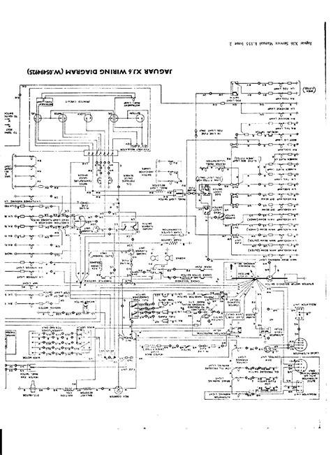 Xj6 Wiper Wiring Diagram by Jaguar Series 2 Wiring Diagram Wiring Diagram Database