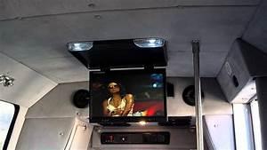 Ford Van 23 U0026quot  Drop Down Lcd Tv