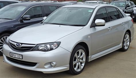 2010 Subaru Impreza (ge7 My10) Rs Sedan (2010-10-19