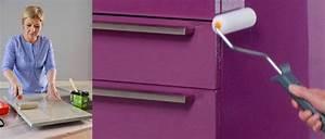 Peindre Meuble Cuisine : peinture relooker ses meubles pour pas cher ~ Melissatoandfro.com Idées de Décoration