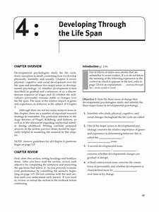 Chapter 4 Developing Through The Life Span  Myers Psychology 8e