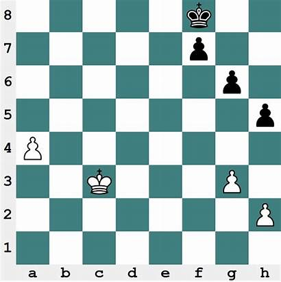 Endgame Pawn Fundamentals Passed Outside Chess Position