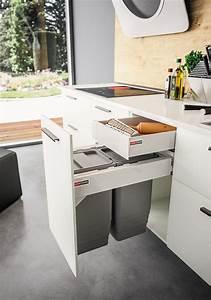 Meuble Poubelle Cuisine : meuble poubelle sagne cuisines organisation ~ Dallasstarsshop.com Idées de Décoration