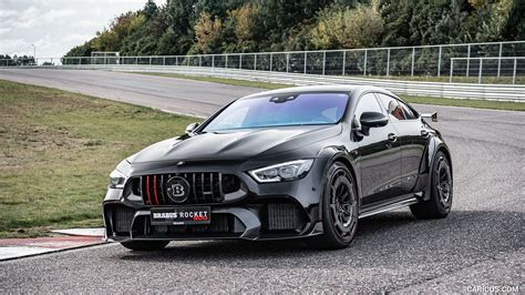 463 kw (630 hp), torque. 2021 BRABUS ROCKET 900 ONE OF TEN based on Mercedes-AMG GT 63 S 4MATIC+ - Front Three-Quarter ...