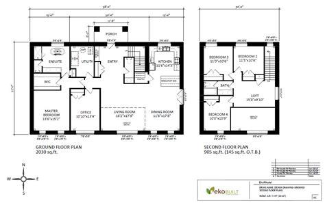 house plan drawings ottawa passive house plans ottawa passive house by ekobuilt