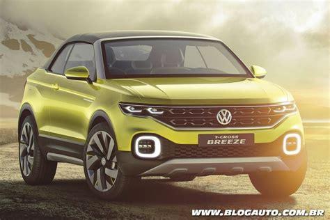 nissan jeep volkswagen t cross breeze antecipa suv da marca blogauto