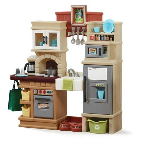 Kitchen Play Set by Kitchen Play Set Children Toddler Pretend Cooking