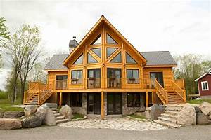 Building A Timber Block Insulated Log Home Vs  Traditional