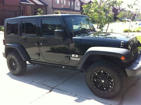 wrangler jeep 4 door black find used 2007 jeep wrangler unlimited x sport utility 4