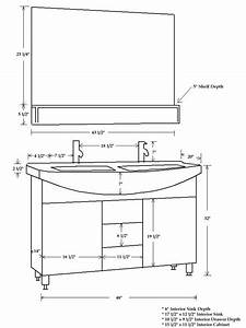 Rough Plumbing Double Sink Vanity