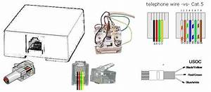 Telephone Rj11 Wiring Reference Diagram Rj 11