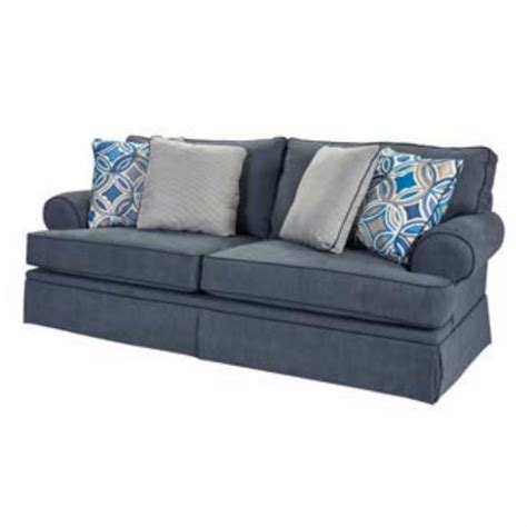 Broyhill Emily Loveseat by Broyhill Emily Sofa In Blue 6262 3q3