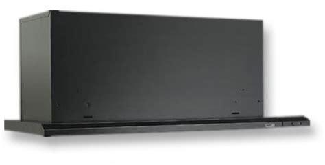 """Broan 153023 Slide Out Range Hood, 30"""" 300 CFM, Black"""