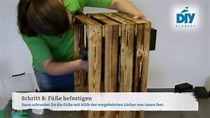 Wurmkomposter Selbst Bauen : upcycling hocker aus einer obstkiste selbst bauen youtube ~ Eleganceandgraceweddings.com Haus und Dekorationen