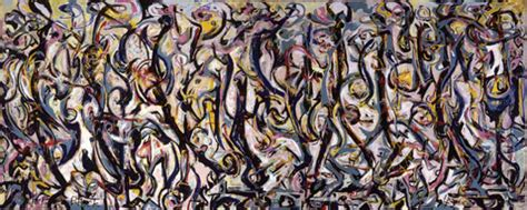 getty to conserve jackson pollock s watershed work mural the getty iris
