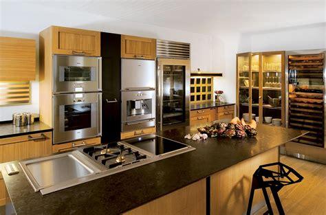 ilot centrale de cuisine photo de cuisine avec ilot faades blanc brillant un lot