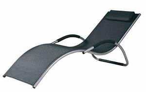 Chaise Longue Aluminium : chaise longue aluminium meubles de jardin ~ Teatrodelosmanantiales.com Idées de Décoration