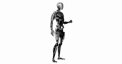 Into Robots Turning Humans