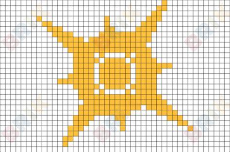 pokemon sun pixel art brik