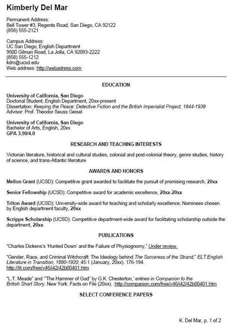 cv template undergraduate cv template student student