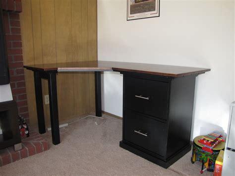 how to build a corner desk stunning modern desk design with wooden varnishing table