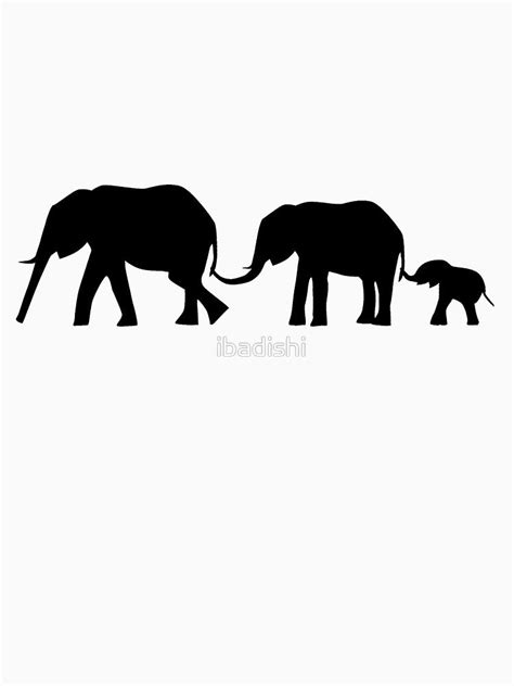 Silhouettes of 3 Elephants Holding Tails | Polyvore | Pinterest | Elephants, Elephant silhouette