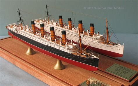 rms olympic model sinking pics for gt rms mauretania model