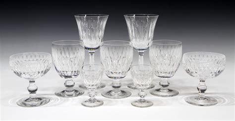 (9) Waterford Cut Crystal Stemware