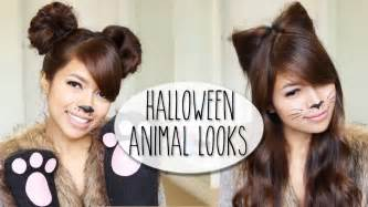 how to make cat ears with hair diy costume ideas cat ears hairstyle