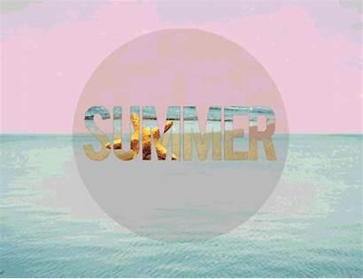 Verano Palm Trees Animated Summertime Gifs Canciones