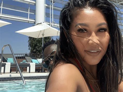 Miss Rada Teases Michael Blackson Reunion With Pool Selfie ...