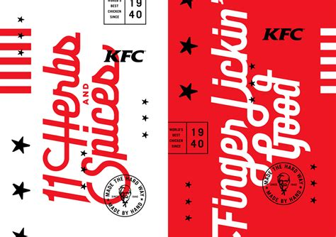 Brand New New Identity And Packaging For Kfc By Grand Army