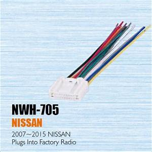 Car Cd Dvd Player Power Wire Cable Plug For Nissan 2007