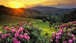 Beautiful Mountain Top Sunset Wallpaper - HD Wallpapers