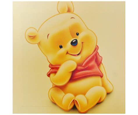 chambre winnie l ourson pour bébé tableau toile disney enfant portrait winnie l 39 ourson bébé