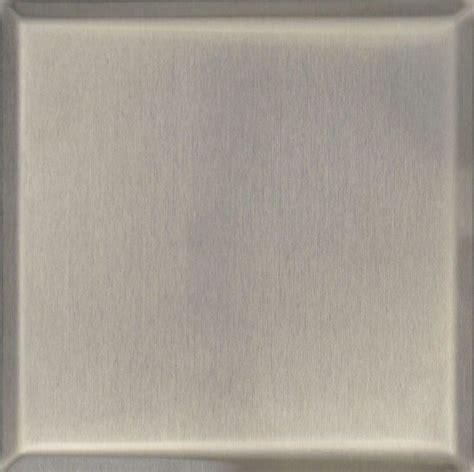 4 x4 stainless steel brushed satin finish tiles