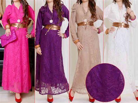 capria outlet maxi dress brokat kimono furing belt