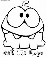 Cut The Rope Printable Coloring Pages Coloring Pages