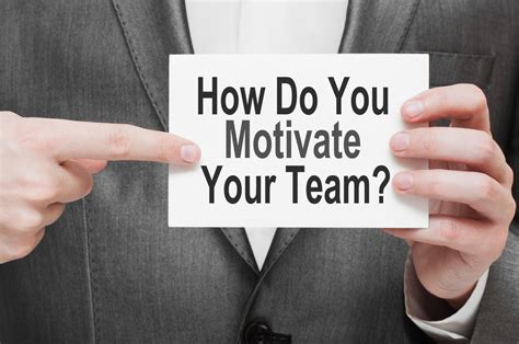 Which of the 3 Ways to Motivate Your Team Are You Using ...