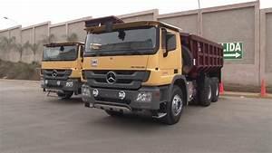Entrega De Camiones Mercedes-benz A La Empresa Jrc