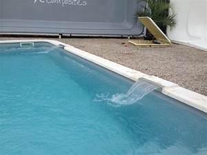 Margelle Pour Piscine : fontaine lame d 39 eau dans margelle groupe abris et piscines ~ Melissatoandfro.com Idées de Décoration