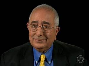 Ben Stein on the gift of gratitude - YouTube