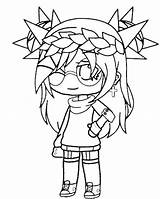 Gacha Coloring Pages Club Animationsa2z Popular Coloringhome Patrick sketch template