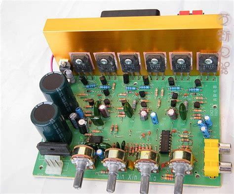 channel power amplifier pcb board  fi car audio