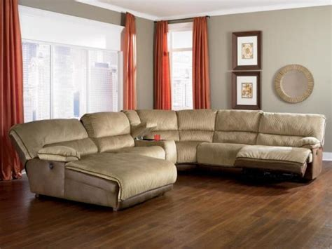 light colored leather sofas  bright vibe   trendy