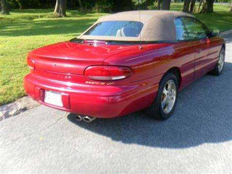 Find Used 1998 Chrysler Sebring Jxi Convertible 2-door 2