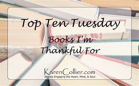 Books I'm Thankful For