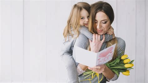mothers day concept  happy mother  daughter photo