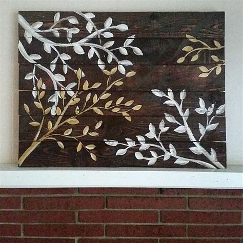 tree wall decor wood upscale tree branch reclaimed wood wall project by