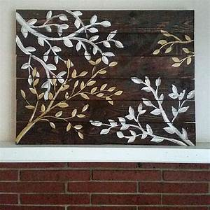 upscale tree branch reclaimed wood wall art project by With wood wall decor using reclaimed wood